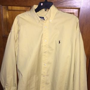 Ralph Lauren yellow button up
